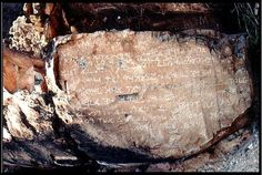 an artifact found at the base of Hidden Mountain, New Mexico near the city of Los Lunas. The main inscription  proclaims the Ten Commandments in ancient Paleo-Hebrew characters.  It is one of the most important ancient artifacts ever found in North America. It's existence offers evidence  that ancient Old World civilizations not only explored but settled in ancient North America millennia before the arrival of Columbus. Possibly connected to the reign of King Solomon kingdom of Israel.