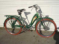 Vintage Schwinn (in green!)