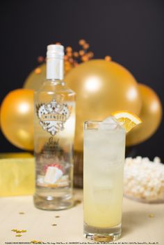The Celebration with 2 oz SMIRNOFF® Iced Cake® Flavored Vodka, 1 oz orange juice, 1 oz pineapple juice, and top with club soda. Build in a collins glass over ice and top off with club soda. #Smirnoff  #recipe