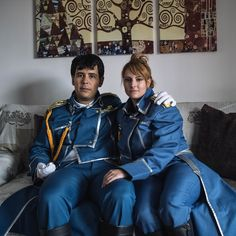 Fullmetal Alchemist Brotherhood - Riza Hawkeye and Roy Mustang - Shooting in my house 19 (PH: http://www.instagram.com/lorenzopapi/)