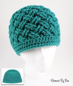 Aislinn Crochet Hat Pattern & other one-skein gifts