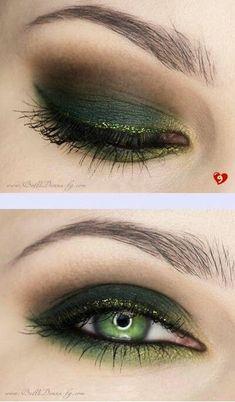 Interesting Smokey Eye Makeup
