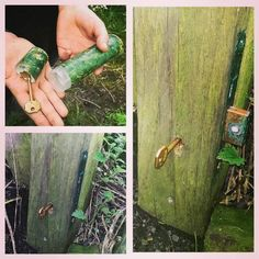 In Leeds, England. You have to turn the key to get the log #geocache #cache #creative