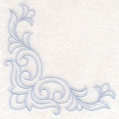 Machine Embroidery Designs at Embroidery Library! Hand Embroidery Patterns Free, Border Embroidery Designs, Embroidery Art, Quilting Designs, Machine Embroidery Designs, Carving Designs, Stencil Patterns, Filigree Design, Corner Designs