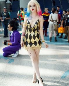missin the con lyfe Cheap Cosplay Costumes, Dc Cosplay, Comic Con Cosplay, Harley Quinn Cosplay, Joker And Harley Quinn, Best Cosplay, Cosplay Ideas, Anime Cosplay, Female Cartoon Characters