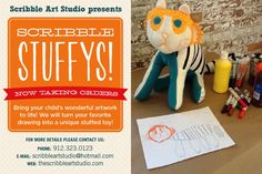 Scribble Stuffys