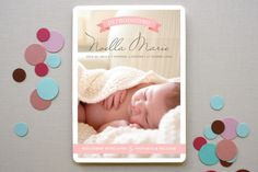Banner Baby by Fine and Dandy Paperie at minted.com