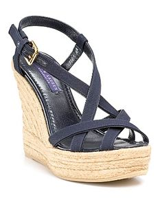 strappy espadrilles - love.