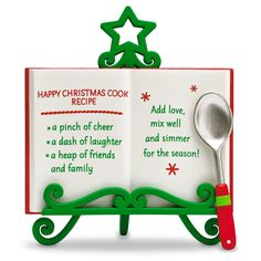 HALLMARK KEEPSAKE HAPPY CHRISTMAS COOK
