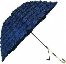 FiFi Umbrella Bleu Marine - You're looking at a fantastic range of luxuriously frilled umbrellas! Why not check them out for yourself?