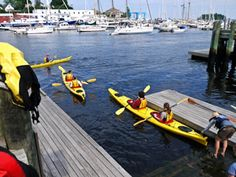 Sea kayaking tours in Camden, Maine are lots of fun for Midcoast visitors!