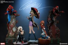 OSR: BLACK CAT - J.SCOTT CAMPBELL COLLECTION STATUE / BY SIDESHOW COLLECTIBLES