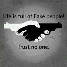 Trust no one.... not even him?