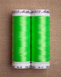 purl soho | products | item | neon thread (mettler)