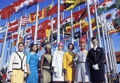 Expo67 | Montreal, Quebec, Canada | #Expo67 | Hostess