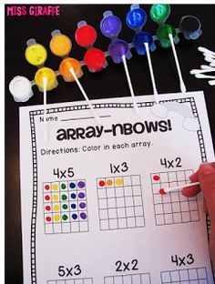 Kindergarten Math Stations - Counting, Addition, Subtraction, Shapes ...