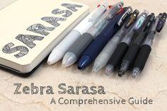 Best pens for general use.  period. Zebra Sarasa A Comprehensive Guide - JetPens.com