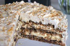 Najbolji domaći recepti za pite, kolače, torte na Balkanu Carrot Cake Iii Recipe, Torta Recipe, Easy Carrot Cake, Moist Carrot Cakes, Brze Torte, Posne Torte, Torte Recepti, Kolaci I Torte, Baking Recipes