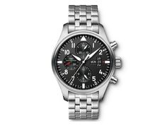 Buy and sell luxury watches on StockX including the IWC Pilot Chronograph in Stainless Steel and thousands of other luxury watches from top brands. Iwc Replica, Iwc Pilot Chronograph, Iwc Watches, Swiss Army Watches, Luxury Watches For Men, Watch Sale, Bracelet Watch, Accessories, Pilots