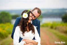 PEI makes the most beautiful backdrop for Weddings! #Charlottetown #PEI #EastCoast #Wedding