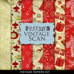 Far Far Hill - Free database of digital illustrations and papers: Freebies XMas Paper Kit