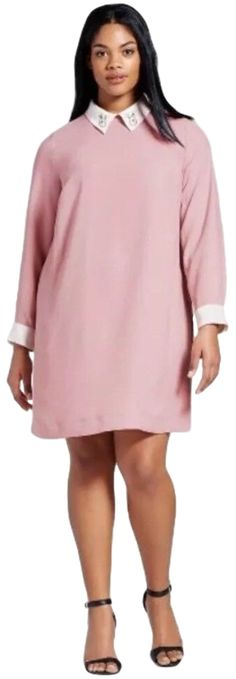 Looking for Victoria Beckham Women's Shift Dress Bunny Collar ? Check out our picks for the Victoria Beckham Women's Shift Dress Bunny Collar from the popular stores - all in one. Swing Dress With Pockets, Plus Size Mini Dresses, Casual T Shirt Dress, Collars For Women, Maxi Wrap Dress, Summer Dresses For Women, Victoria Beckham, Bunny, Blush