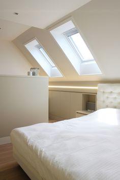 studio k - inrichten zolderruimte tot slaapsuite 2012 (interieur, interior, zolder, attic, slaapruimte, sleeping space)