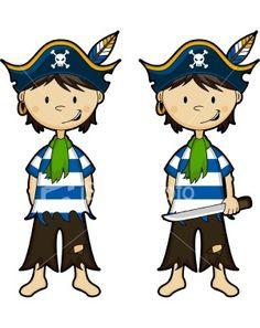 pirate boy template