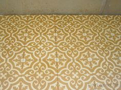 Frances cement tile cuban tile in glowing tones