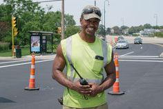 """""""I've been doing construction for 5 years. It's a really hard job; it takes a toll on your body, especially when you're out here in the elements. But I don't see it as a struggle at all. I definitely like it better than my last job!"""" #myworkmystory #manpowergroup"""