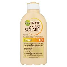 Garnier Ambre Solaire SPF 10 Golden Protect Lotion 200 ml