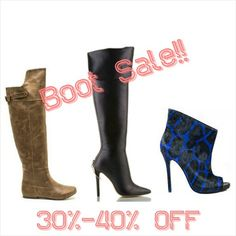 All boots must go sale!  Enjoy 30-40% off on select styles until Monday no code needed!  Lowest prices of the season shop now at JaeLuxe.com.  Tag a friend dolls!  #JaeLuxeShoetique #shoetique #sale #fashionista #fashionbombdaily #boots #fashionblogger #fashion #shop #shoejunky #beautiful #friday
