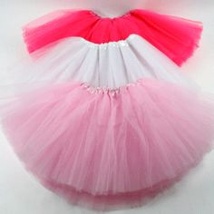 Fluffy Tutus. Found these for $4 each. I could make them but I don't think for much cheaper..
