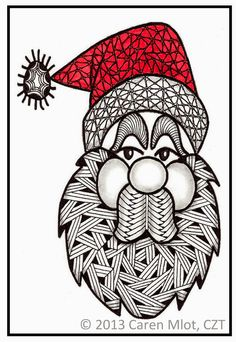 Tangle Mania: Yes, Virginia, There is a Santa Claus