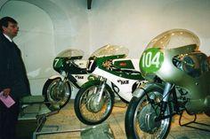 MZ race bikes.
