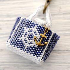 Marine bag~navy~