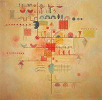 Wassily Kandinsky. Gentle Ascent, 1934