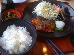 Breakfast Saba Set Japanese Meals, Japanese Food, Grains, Rice, Cooking, Breakfast, Inspiration, Kitchen, Morning Coffee