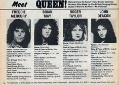 Now this is a rare gem - Meet Queen    #FreddieMercury #brianmay #rogertaylor #johndeacon