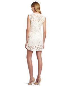 Amazon.com: BCBGMAXAZRIA Women's Beti Lace Crochet Mini Dress: Clothing