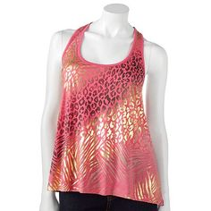 Rewind Mixed Animal Foil Tank from Kohl's (bought on 7/13/2012)