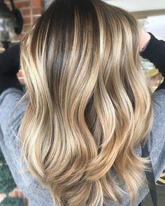 High-Shine+Brown+Blonde+Balayage