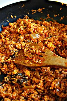 The Very Best Kimchi Fried Rice for #SundaySupper | Wallflour Girl