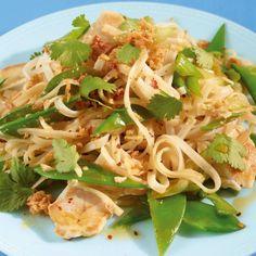 Thailändische Gemüsepfanne
