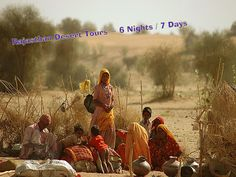 This state has the more number of Deserts in India, than any other state. It houses the biggest desert in India the Thar Desert. The Thar Desert occupies nearly 70% of Rajasthan land area, and that's the reason Rajasthan rightly called as the Desert state of India. The Thar Desert includes the districts of Barmer, Bikaner, Jaisalmer, and Jodhpur. It also runs through the borders of Pakistan.This tour for 6 Nights / 7 Days.http://goo.gl/mCl8L