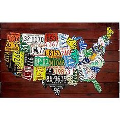 VISIT all 50 states (not just drive through. Gas stations do not count, or airports)