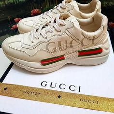 gucci sneakers-Classy and trendy sporty shoes – Just Trendy Girls Gucci Shoes Sneakers, Dad Sneakers, Sneakers Fashion, Fashion Shoes, Ugly Shoes, Dad Shoes, Me Too Shoes, Basket Style, Aesthetic Shoes