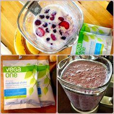 My Morning Vega Smoothie