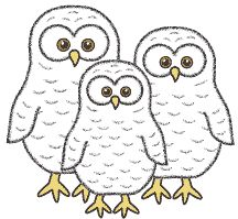 cute owl patterns ! Owl Babies