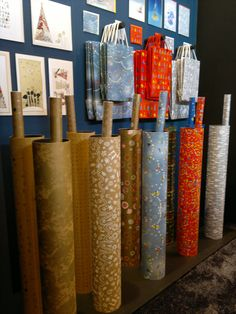 Christmas wrapping papers & bags